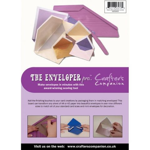 Crafters Companion Ultimate Pro Embossing Board - Enveloper Pro